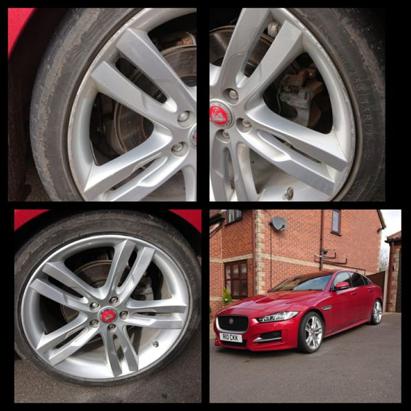 Refurbished silver alloys on this jaguar in swanick  : Swipe To View More Images